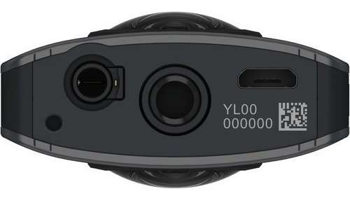 cámara panoramica ricoh 360 theta v video 4k
