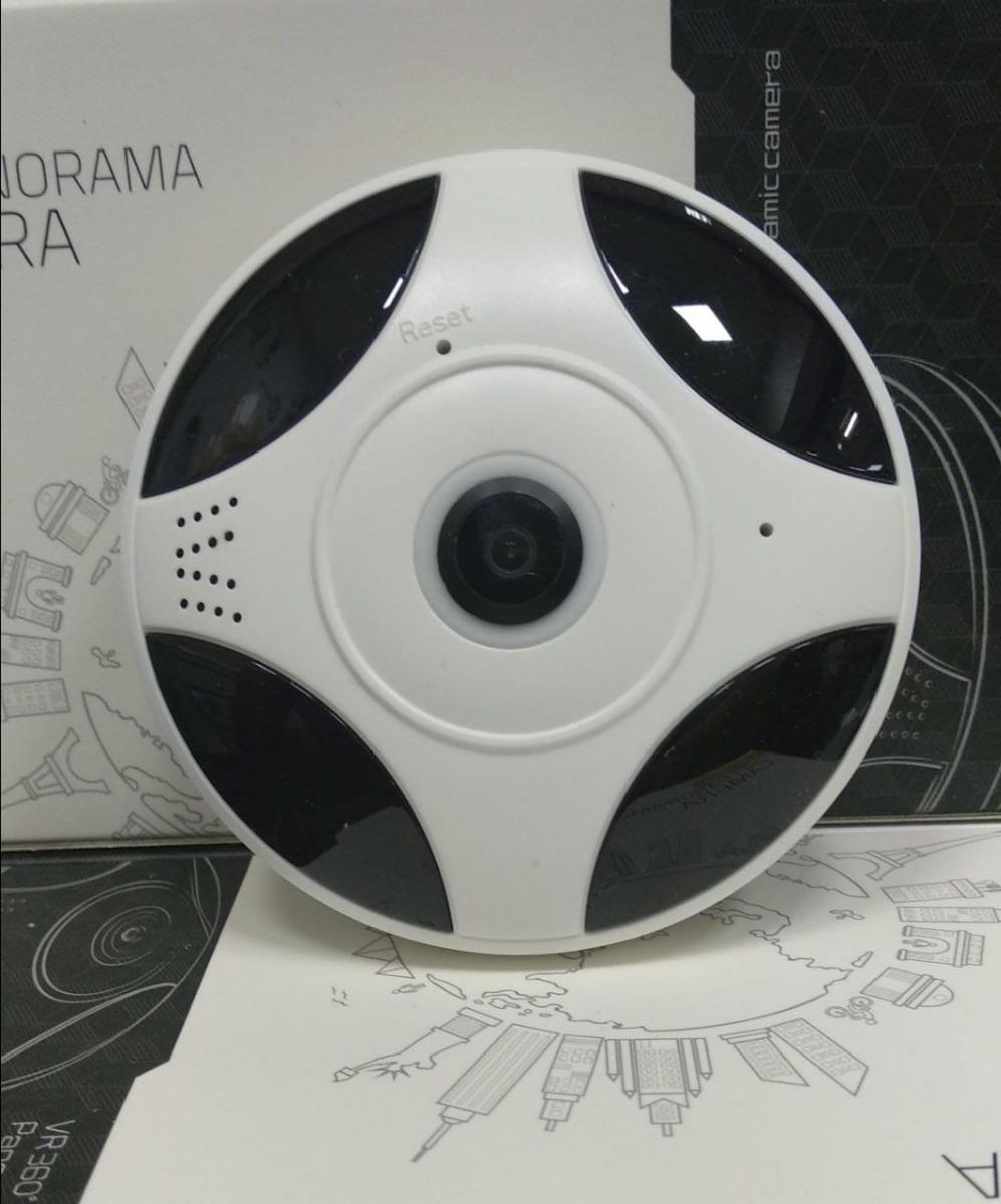Cámara Panorámica Wifi, Cámara 360°, App Icsee Pro - 1 3 Mpx