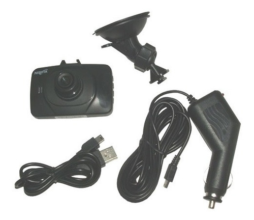 camara para auto con dvr audio nisuta ns ca480 720p lcd 2.4