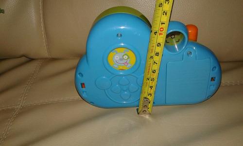 cámara para bebés con sonido, luz, movimiento manual happkid