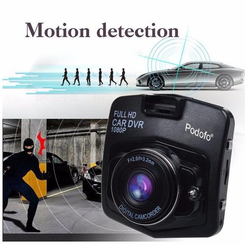 cámara para carros dvr hd con pantalla lcd gira 270 nocturna