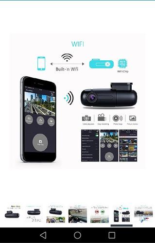 cámara para coche  wifi vehículo grabador de vídeo  360