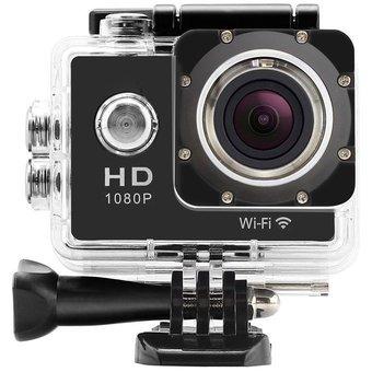 cámara para deportes sportscam 1080p impermeable wifi full h