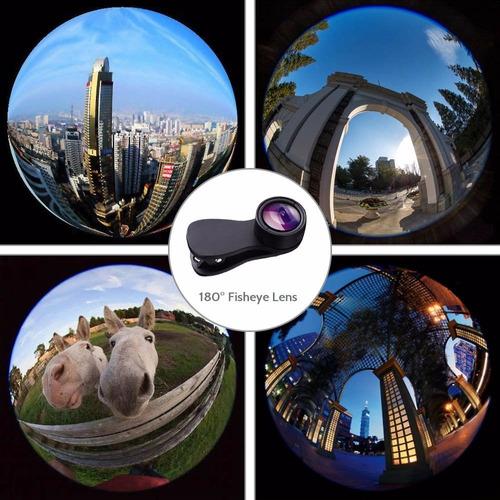cámara para lente