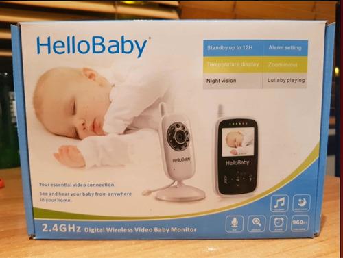 cámara para monitorear a su bebé full hd