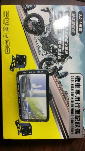 camara para moto (delantera y trasera)con micrófono 2u.
