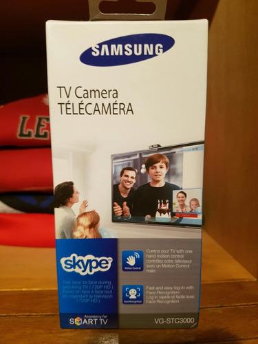 cámara para tv - samsung vg-stc3000 - skype en tu smart tv