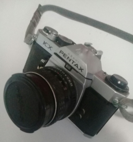 camara pentax antigua kx con lentes