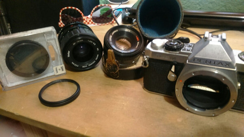 cámara pentax me-super