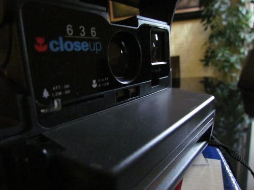 camara polaroid 636 closeup retro clasic vintage coleccion