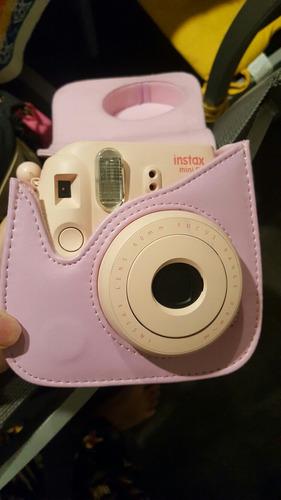 camára polaroid rosada