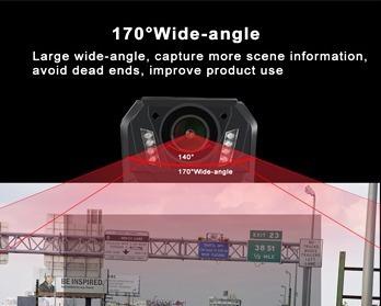 cámara policial solapa 32gb 5hr grabación fortaseg bodycam