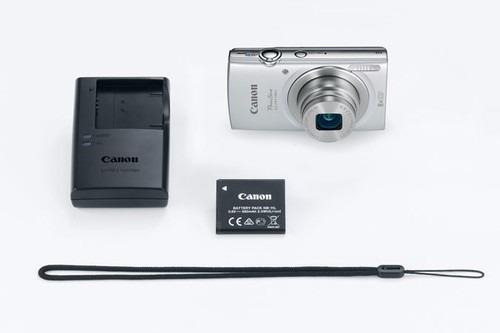 cámara powershot elph 180, 20mp, 8x, lcd 2.7 , compacta
