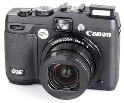 camara powershot g16  canon