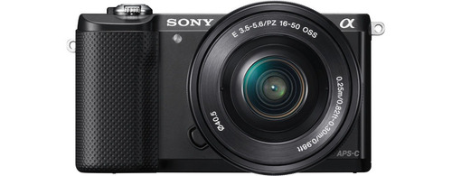cámara profesiona sony de 20.1mp montura e - ilce-5000l