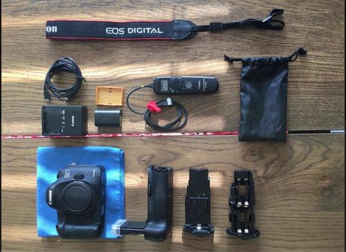 cámara profesional canon 5d mark lii como nueva