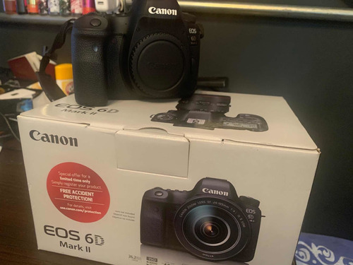 cámara profesional canon 6d markii lentes sigma art 50 y 24