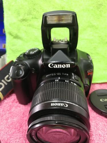 camara profesional canon t3 12 mp video hd lente 18-55