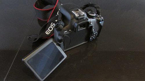 camara profesional digital canon t4i ( sólo cuerpo )
