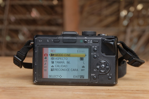 cámara profesional mirrorless panasonic lumix gf1 14.42mm