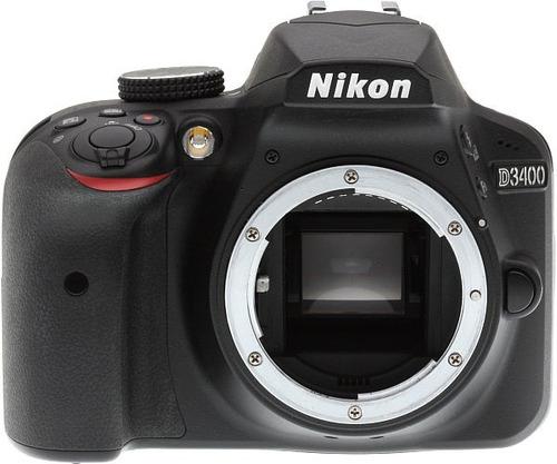 camara profesional nikon d3400 dos lentes y control remoto