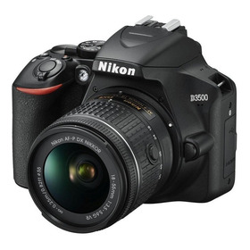 Camara Profesional Nikon D3500 Kit 18-55mm 24,2mpx Full Hd