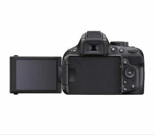 cámara profesional nikon d5200 - dslr lente 18-55 mm