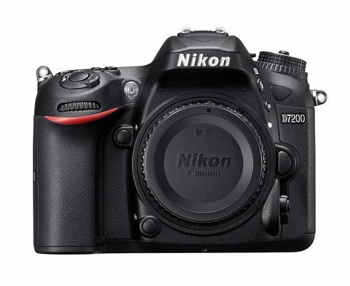 cámara profesional nikon d7200 cuerpo