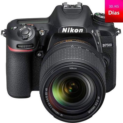 camara profesional nikon d7500 dx-format digital slr body