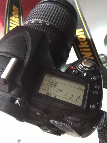 cámara profesional nikon d90 y lente 18-105mm