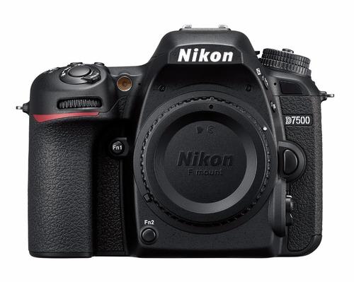 cámara profesional reflex nikon d7500 cuerpo