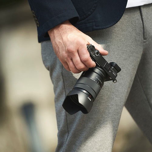 cámara profesional sony 24.2mp+ lente 18-135mm- ilce-6500m