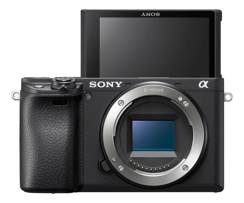 cámara profesional sony 24.2mp y lente 18-13mm- ilce-6400m