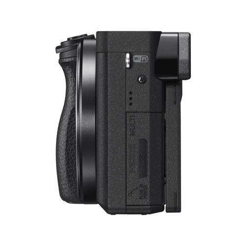 cámara profesional sony 24.2mp y lente18-135mm- ilce-6300m