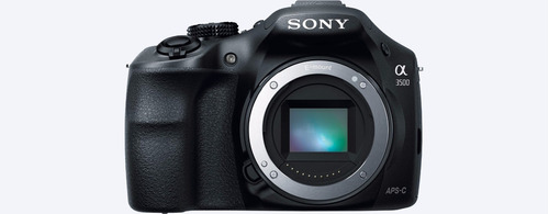 camara profesional sony 3500j 20.1mp lente e18-55mm