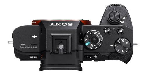 cámara profesional sony 7sii fullframe video 4k- ilce-7sm2