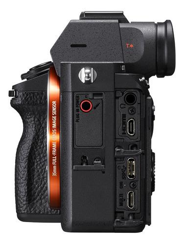 cámara profesional sony a7 iii fullframe 35mm - ilce-7m3
