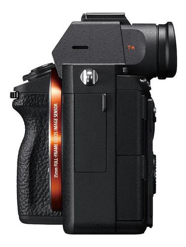 cámara profesional sony a7r iii fullframe 35mm - ilce-7rm3