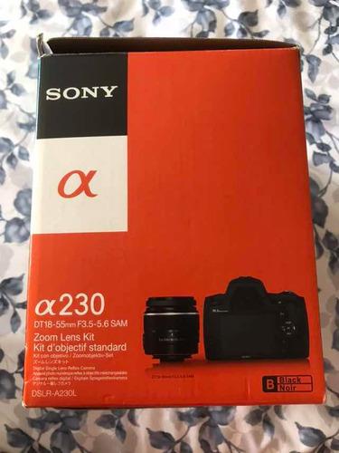 cámara profesional sony alpha 230