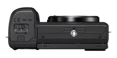 cámara profesional sony de 24.2mp y videos 4k - ilce-6400l