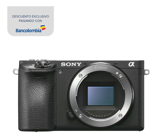 cámara profesional sony de 24.2mp y videos 4k - ilce-6500