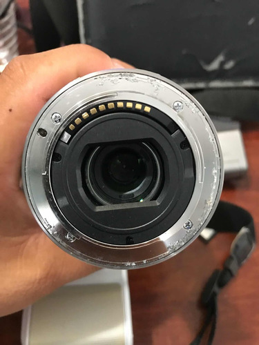cámara profesional sony nex-3