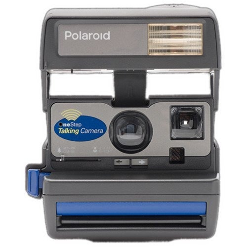 cámara que habla polaroid 600 imposible ritz gear deluxe bo