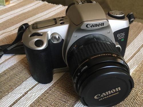 cámara réflex canon eos 500