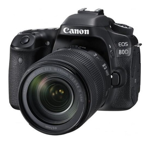 camara reflex canon eos 80d kit 18-135mm