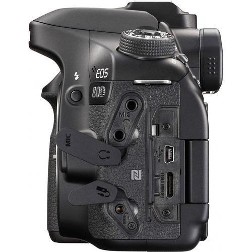 camara reflex canon eos 80d solo cuerpo + sd 16gb + control
