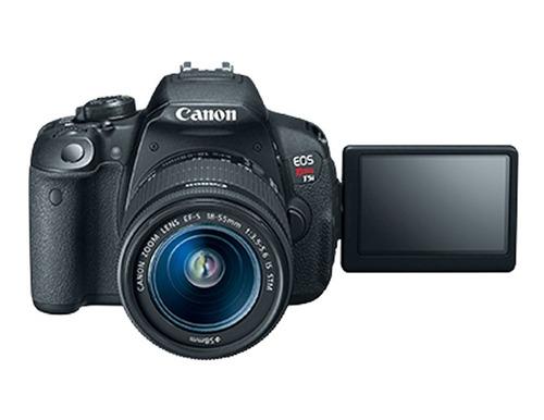 cámara reflex canon eos rebel t5i lente 18 135 envío gratis