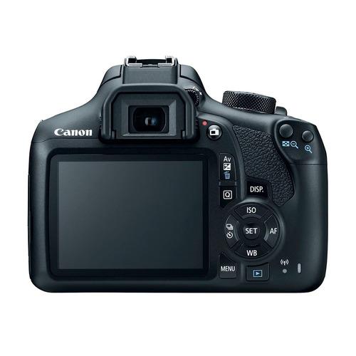 cámara reflex canon eos rebel t6 cmos lente 18 55 wifi nfc