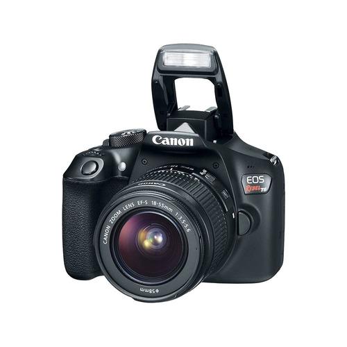 cámara reflex canon eos rebel t6 wifi nfc 18mpx 18-55mm