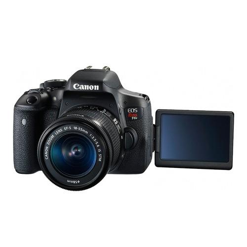 cámara reflex canon eos rebel t6i kit 18-55mm